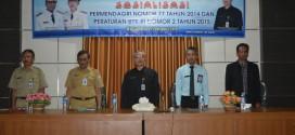 PENGURUS PARPOL MENDAPAT PENCERAHAN PERMENDAGRI No.77 TH 2014 DAN PERKA  BPK RI NO.2 TH. 2015